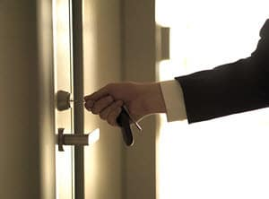 Commercial business locksmith in Glasgow West End